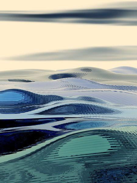 Paysage Abstrait 15 van Angel Estevez