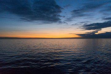 Noordzee lucht von Babette van Gameren