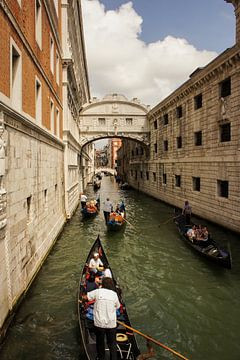 Gondels van Venetië, Italië van Remco de Zwijger