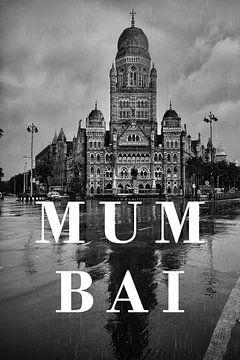 Städte im Regen: Mumbai von Christian Müringer