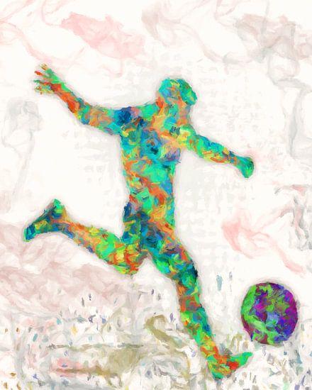Fußballspieler von Marion Tenbergen