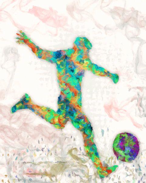 footballeur sur Marion Tenbergen