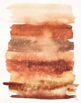 Woestijnbloei abstract II vallen, Laura Marshall van Wild Apple