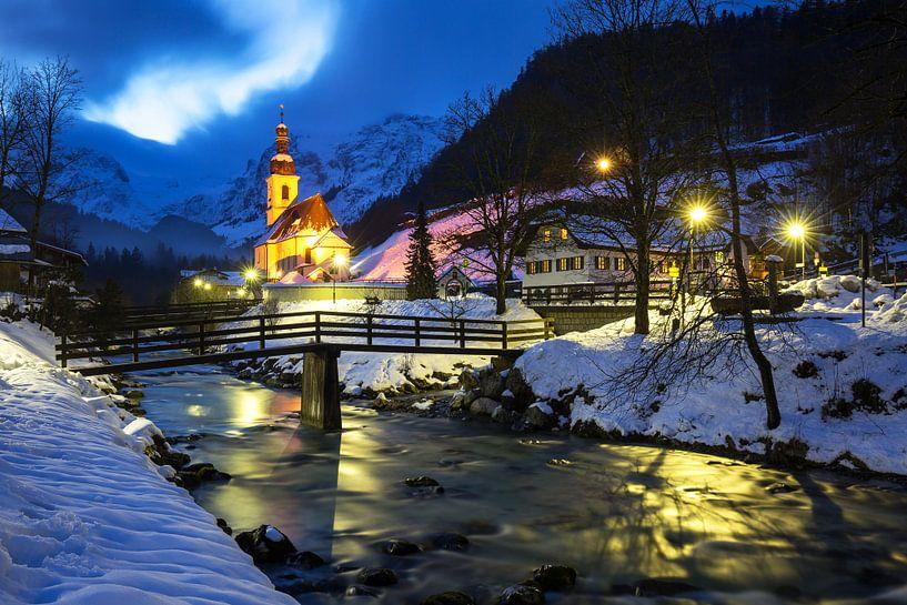 Ramsau Malerwinkel (Berchtesgadener Land) van Frank Herrmann
