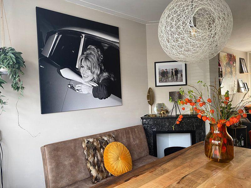 Photo de nos clients: Brigitte Bardot (1960) sur Bridgeman Images, sur toile