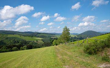 Landschaftspanorama im Sauerland von Alexander Ludwig