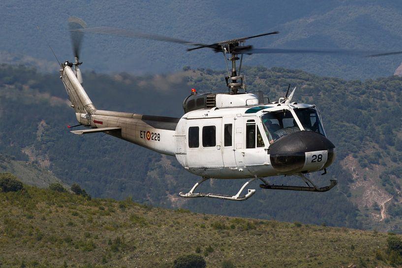 Spaanse Landmacht UH-1 Iroquois van Dirk Jan de Ridder
