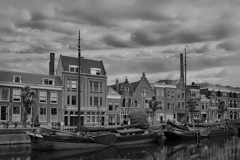 Delfshaven, Rotterdam, The netherlands, Z/W van Maarten Kost