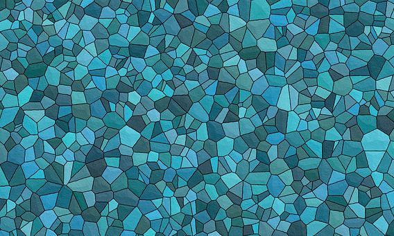 Motif de pierre bleu