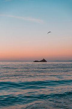 Zonsondergang op Elba van Dayenne van Peperstraten