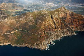 Cape peninsula aerial view VII - Chapmans Peak Drive van