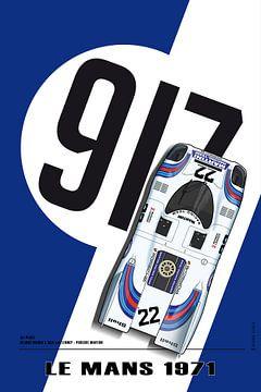 917 Martini, Le Mans Winner 1971 van Theodor Decker