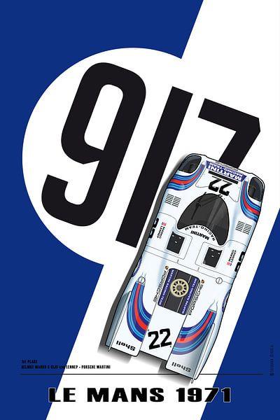 917 Martini, Le Mans Winner 1971 von Theodor Decker