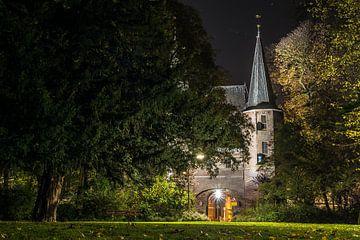 Broederpoort, Kampen bij nacht van Gerrit Veldman