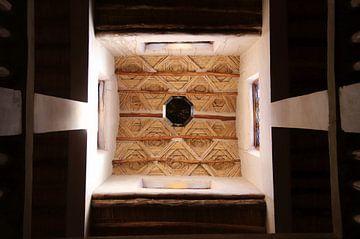 Het dak van een kasbah