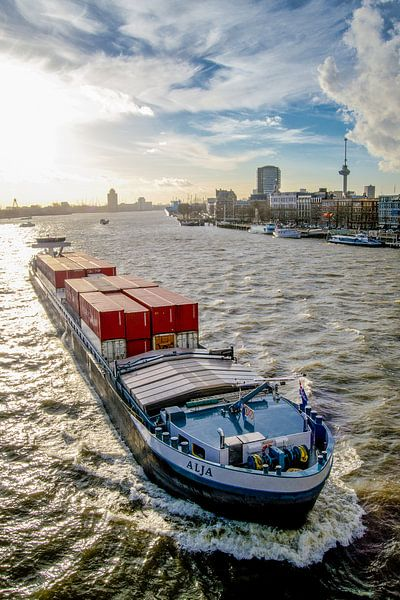 Komen en gaan in Rotterdam