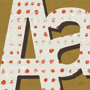 Punctuated Square IX Retro, Michael Mullan van Wild Apple