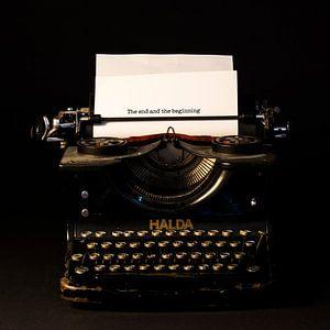Typemachine van