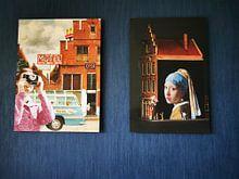 Klantfoto: Het Straatje van Vermeer - Delft van Marja van den Hurk, op xpozer