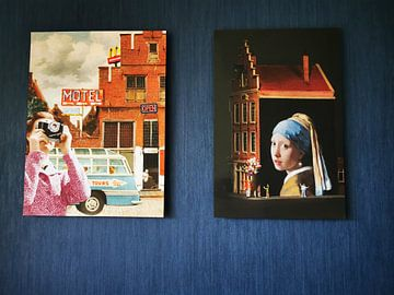 Klantfoto: Het Straatje van Vermeer - Delft van Marja van den Hurk