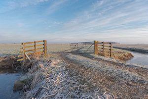 Winter im Alblasserwaard. von Beeldbank Alblasserwaard