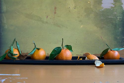 Vier mandarijnen