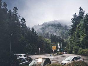 Mist in de bergen