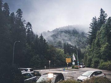 Mist in de bergen sur Joyce Roth