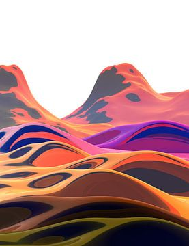 Prachtige bergen 6 van Angel Estevez