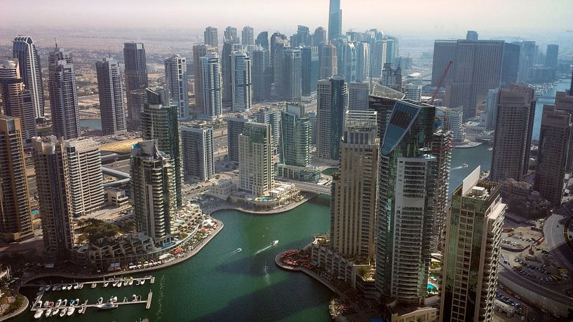 Prachtig Dubai Marina van Dimitri Verkuijl