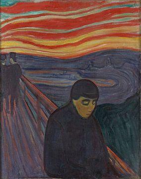 Wanhoop, Edvard Munch
