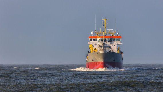 Schip op zee van Bram van Broekhoven