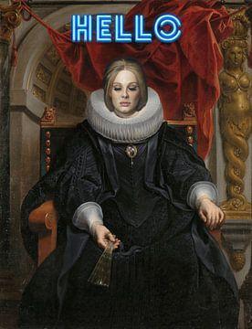 Adele von Rene Ladenius Digital Art