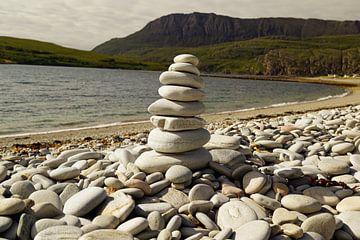 Steinturm am Ardmair Point von Babetts Bildergalerie