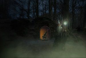 licht in het duister van Edwin van Unen