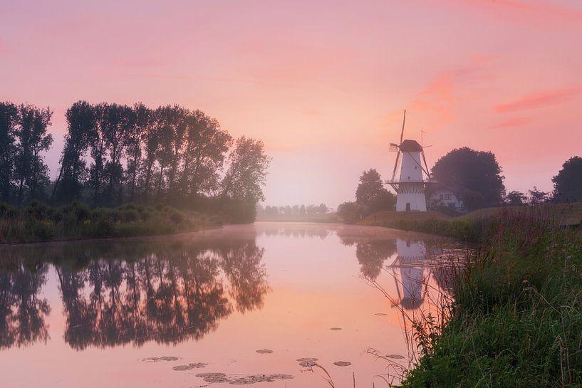 Mühle der Schmetterling von Monique van Genderen (in2pictures.nl fotografie)