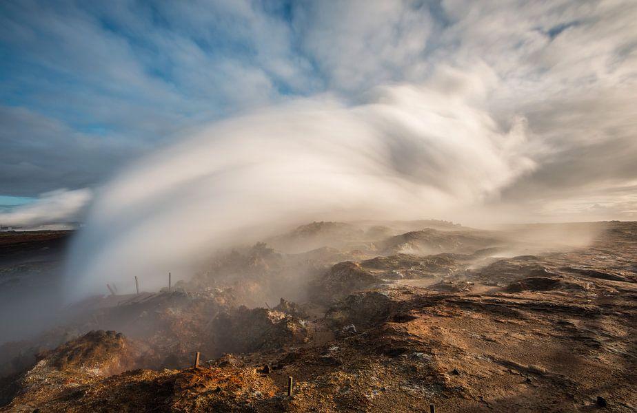 De hete bron Gunnuhver