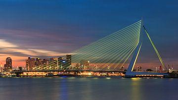 Erasmusbrug, Rotterdam van Henk Meijer Photography