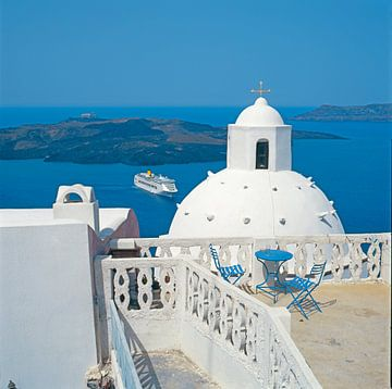 Santorini, Griekenland van