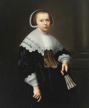 Porträt einer Dame, Bartholomeus van der Helst