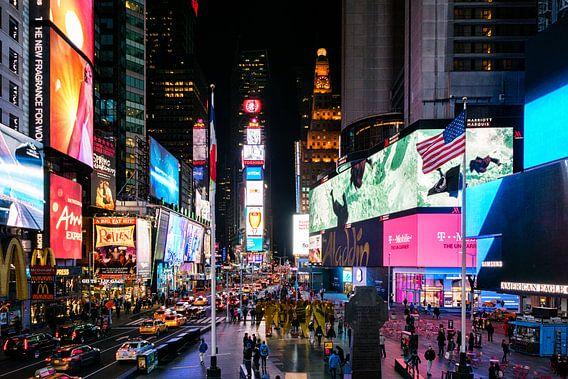 Times Square in New York City van Jasper den Boer