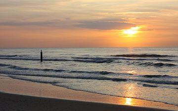 Zonsondergang aan zee van Tesstbeeld Fotografie