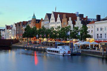 Giebelhäuser Lübeck von Patrick Lohmüller
