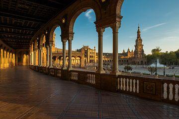 Plaza de Espana - Sevilla sur Jack Koning