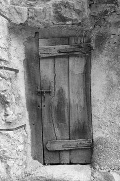 De oude deur van Wim Alblas