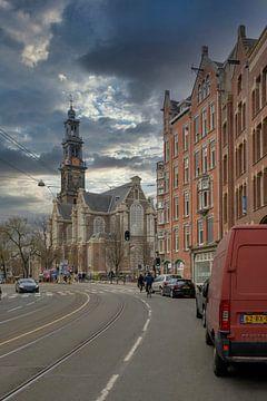 Raadhuisstraat Amsterdam van Peter Bartelings Photography
