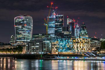 Londres Skyline sur Stefan Vlieger