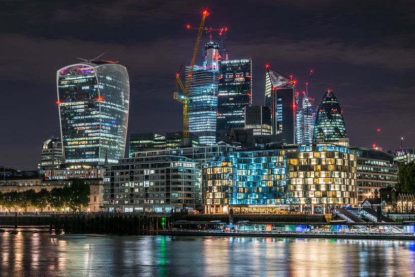 London Skyline van Stefan Vlieger