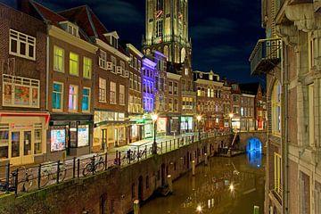 Canal Utrecht Dom Tour (Vieux Canal) sur