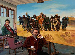 Ilya Repin-Malerei